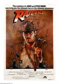 "Movie Posters:Adventure, Raiders of the Lost Ark (Paramount, 1981). Australian One Sheet(27"" X 40""). Harrison Ford plays archaeologist Indiana Jones..."
