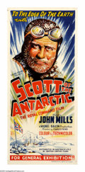 """Movie Posters:Action, Scott of the Antarctic (Eagle Lion, 1948). Australian Daybill (13""""X 30""""). """"Great God! This is an awful place."""" Captain Robe..."""