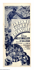 "Movie Posters:Adventure, Tarzan's Secret Treasure (MGM, 1941). Australian Daybill (13"" X30""). Although coming along rather late in the cycle, ""Tarza..."