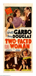 """Movie Posters:Comedy, Two Faced Woman (MGM, 1941). Australian Daybill (13"""" X 30""""). This film was a George Cukor romantic comedy that starred Greta..."""