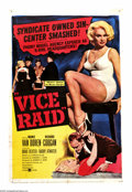 "Movie Posters:Crime, Vice Raid (United Artists, 1960). One Sheet (27"" X 41""). Mamie VanDoren stars as a Detroit hooker sent to New York by the m..."