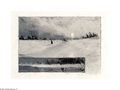 Texas:Early Texas Art - Drawings & Prints, Frank Reaugh (1860-1945) West Texas Snow Scene Charcoal on Reaughprepared paper (grit surface) 5 x 7in. Signed lower ri...