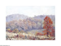 Texas:Early Texas Art - Impressionists, Ira McDade (1867-1951) Autumn Oil on paperboard 14 x 20in. Signedlower left: Ira McDade Titled and signed verso: ...