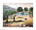 Texas:Early Texas Art - Impressionists, Rolla Taylor (1871-1970) Goat Ranch Oil on canvas 24 x 30in. Signedlower left: Rolla Taylor Provenance: Estate of ...
