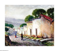 Texas:Early Texas Art - Impressionists, Rolla Taylor (1871-1970) Crooked Streets, San Miguel, Allende Oilon canvas 20 x 24in. Signed lower right: Rolla Taylo...