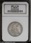 Seated Half Dollars: , 1861-O 50C VF35 NGC. ...