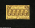 Fractional Currency:First Issue, Fr. 1281 25c First Issue Two Examples Choice About New. Both of these notes have corner folds. ... (2 notes)