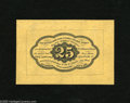 Fractional Currency:First Issue, Fr. 1282SP Wide Margin Reverse 25c First Issue Gem New. This is a lovely wide margin reverse specimen with perfect centering...