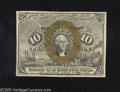 Fractional Currency:Second Issue, Fr. 1245 10c Second Issue Choice New. Clear surcharges are found on this Fractional....