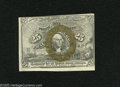 Fractional Currency:Second Issue, Fr. 1284 25c Second Issue Choice New. A very nice example of this scarcer sleeper variety that has decent margins and bold i...