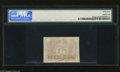 Fractional Currency:Second Issue, Fr. 1314SP 50c Second Issue Narrow Margin Back Specimen PMG Choice Uncirculated 64. The edge barely touches the shield in on...