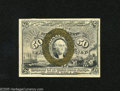 Fractional Currency:Second Issue, Fr. 1318 50c Second Issue Extremely Fine. The surcharges are clear on this example....