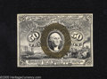 Fractional Currency:Second Issue, Fr. 1321 50c Second Issue Extremely Fine-About New. This Washington 50 Cent note with just a trace of handling has clear bac...