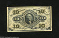 Fractional Currency:Third Issue, Fr. 1255 10c Third Issue Extremely Fine. A crisp and well margined example of this Washington green back....