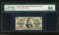 Fractional Currency:Third Issue, Fr. 1291 25c Third Issue Choice Uncirculated 64. The lower left corner exhibits plate number 79....