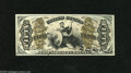 """Fractional Currency:Third Issue, Fr. 1347 50c Third Issue Justice Gem New. This is a wonderful example of this red back Justice with """"A-2-6-5"""" surcharges on ..."""
