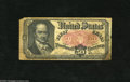 Fractional Currency:Fifth Issue, Fr. 1381 50c Fifth Issue About New. About New is the technicalgrade of this note as there is only a single center fold. Th...