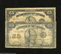 Canadian Currency: , DC-24b 25¢ AG, large internal tear DC-24c 25¢ VG. ... (2 notes)