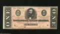 Confederate Notes:1864 Issues, T71 $1 1864. This handsome Two has excellent print quality and inks. About Uncirculated....