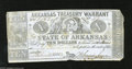 """Obsoletes By State:Arkansas, Little Rock, AR $10 Feb. 23, 1863 Criswell Unlisted This blue paper $10 has """"with interest at"""" crossed out in ink. Fine. ..."""