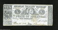 Obsoletes By State:Arkansas, Little Rock, AR $10 May 15, 1863 Criswell 56a This $10 is printed on blue paper with green printing on the back. Fine....