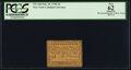 Colonial Notes:New York, New York- New York City February 20, 1790 3d PCGS Apparent New 62.....