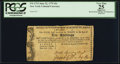 Colonial Notes:New York, New York The City and County of Albany June 22, 1775 10 ShillingsFr. NY-171.3. PCGS Apparent Very Fine 25.. ...