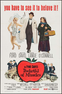 "Pocketful of Miracles & Others Lot (United Artists, 1962). One Sheets (3) (27"" X 41""). Comedy. ... (To..."