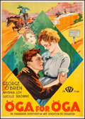"""Movie Posters:Western, The Last of the Duanes (Fox, 1930). Swedish One Sheet (27.5"""" X 39.25""""). Western.. ..."""
