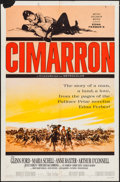 """Movie Posters:Western, Cimarron & Others Lot (MGM, 1960). One Sheets (5) (27"""" X 41"""") Style B. Western.. ... (Total: 5 Items)"""