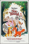 """Movie Posters:Animation, The Fox and the Hound & Other Lot (Buena Vista, 1981). OneSheets (2) (27"""" X 41""""). Animation.. ... (Total: 2 Items)"""