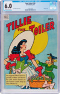 Golden Age (1938-1955):Humor, Four Color #195 Tillie the Toiler (Dell, 1948) CGC FN 6.0 Off-whiteto white pages....