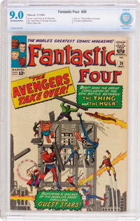 Fantastic Four #26 (Marvel, 1964) CBCS VF/NM 9.0 Off-white to white pages