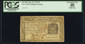 Colonial Notes:New York, New York August 13, 1776 $2 PCGS Apparent Extremely Fine 40.. ...