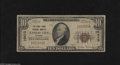 National Bank Notes:Missouri, Kansas City, MO - $10 1929 Ty. 1 The Stock Yards NB Ch. # 10413This is a well-circulated example from this popular tit...