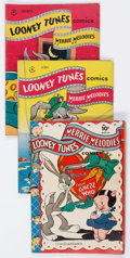 Golden Age (1938-1955):Cartoon Character, Looney Tunes and Merrie Melodies Comics Group of 17 (Dell, 1943-51)Condition: Average VG.... (Total: 17 Comic Books)