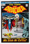 Bronze Age (1970-1979):Horror, Tomb of Dracula #2 (Marvel, 1972) Condition: NM-....