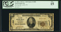 National Bank Notes:Washington, Lynden, WA - $20 1929 Ty. 1 The First NB Ch. # 11808. ...
