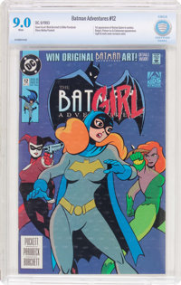 the Batman Adventures #12 (DC, 1993) CBCS VF/NM 9.0 White pages