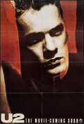 """Movie Posters:Rock and Roll, U2: Rattle and Hum (Paramount, 1988). One Sheet (27"""" X 40.5"""")Teaser. Rock and Roll.. ..."""