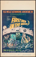 """Movie Posters:Science Fiction, First Men in the Moon & Other Lot (Columbia, 1964). Window Card(14"""" X 22"""") & Foldout Posters (2) (17"""" X 21"""" & 17.5"""" X24"""").... (Total: 3 Items)"""