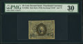 Fractional Currency:Second Issue, Fr. 1286a 25¢ Second Issue Slate Back PMG Very Fine 30.. ...