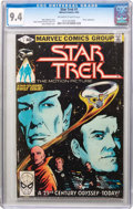 Modern Age (1980-Present):Science Fiction, Star Trek #1 (Marvel, 1980) CGC NM 9.4 Off-white to white pages....