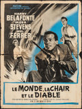 """Movie Posters:Science Fiction, The World, The Flesh and the Devil (MGM, 1959). French Affiche(23.5"""" X 31.5""""). Science Fiction.. ..."""