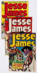 Golden Age (1938-1955):Western, Jesse James Group of 23 (Avon, 1950-56) Condition: Average VG.... (Total: 23 Comic Books)