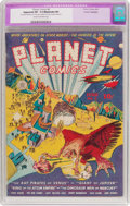 Golden Age (1938-1955):Science Fiction, Planet Comics #6 (Fiction House, 1940) CGC Apparent VF- 7.5Moderate (P) Cream to off-white pages....