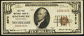 National Bank Notes:Pennsylvania, Rimersburg, PA - $10 1929 Ty. 1 The First NB Ch. # 6676. ...
