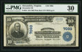 National Bank Notes:Virginia, Alexandria, VA - $10 1902 Plain Back Fr. 624 Alexandria NB Ch. #7093. ...