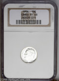 Proof Roosevelt Dimes: , 1956 10C PR 68 Cameo NGC. ...