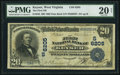 National Bank Notes:West Virginia, Keyser, WV - $20 1902 Date Back Fr. 642 The First NB Ch. # (S)6205....